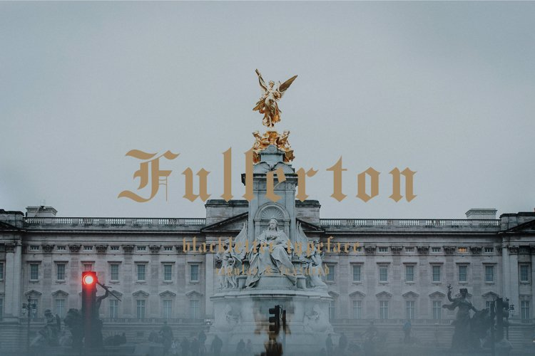 Fullerton Typeface Font example image 1