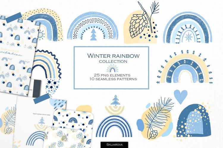 Winter rainbow collection