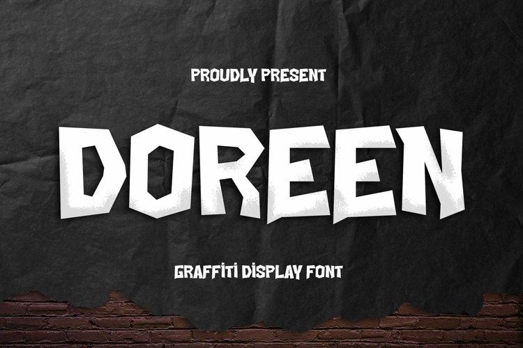 Web Font Doreen Font example image 1