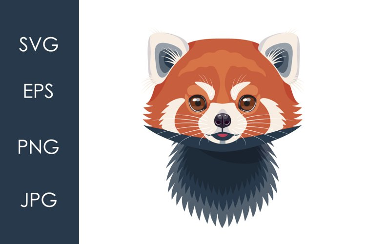 Funny Red Panda Face example image 1