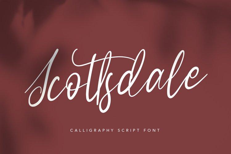 Scottsdale - Script Font example image 1