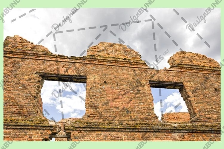 part of the brick wall example image 1