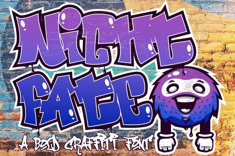 Nightfate Graffiti example image 1