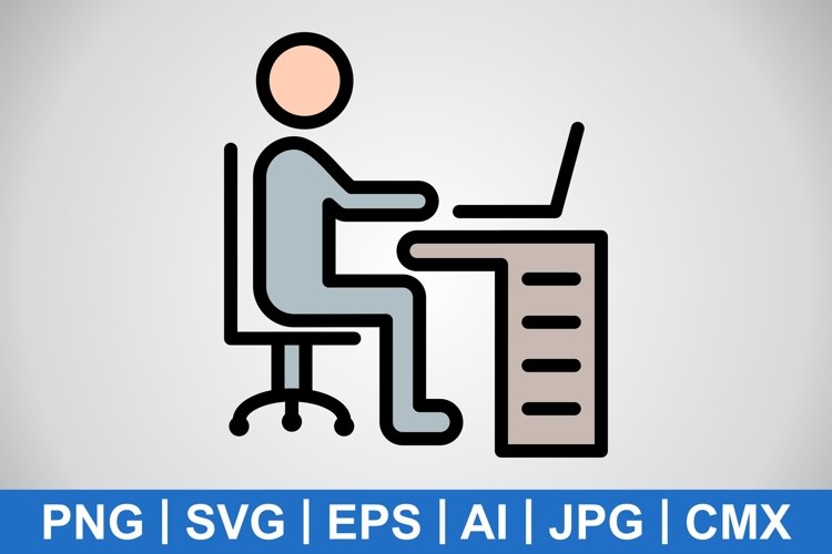 Vector Workspace Icon example image 1