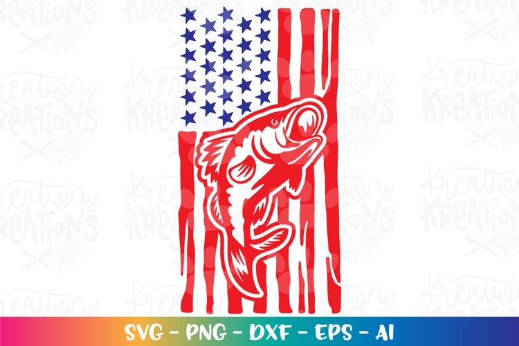 Download Fishing Svg Bass Fishing Flag Usa Patriotic Camping Lake 1318631 Hand Lettered Design Bundles