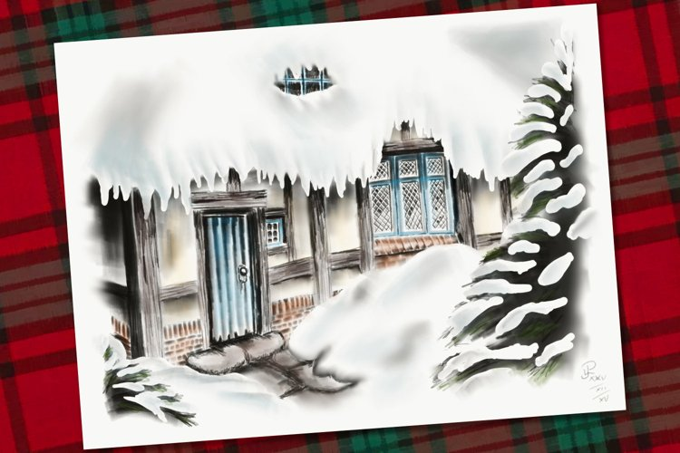 Snowy Cottage example image 1