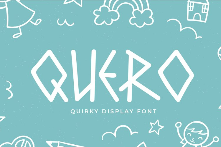 Quero - Quirky Display Font example image 1