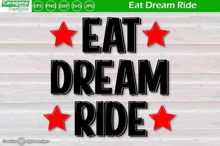 Eat Dream Ride example image 1