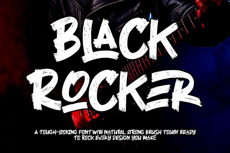 Black Rocker example image 1