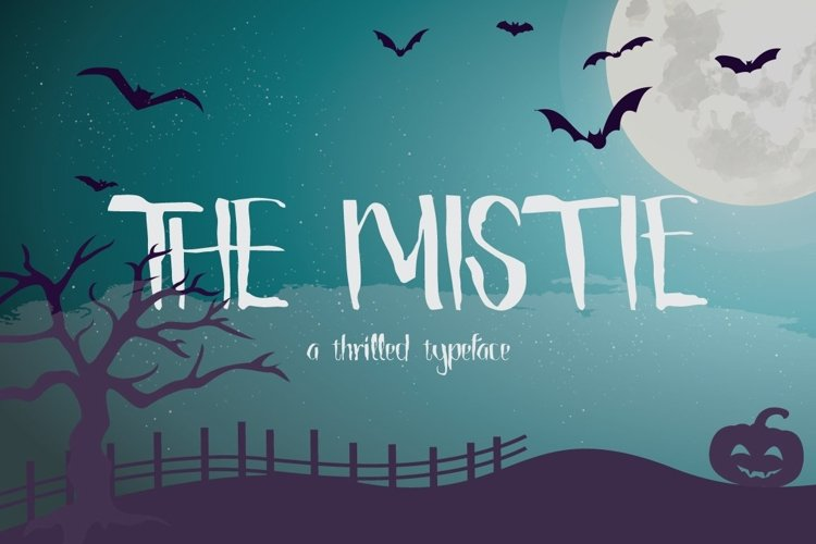 Web Font The Mistie Typeface example image 1