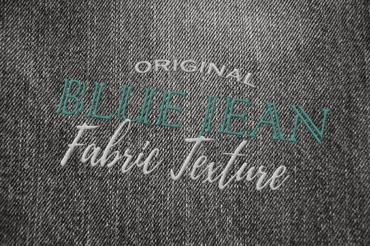 15 Denim Jean Fabric Textures JPG example 4