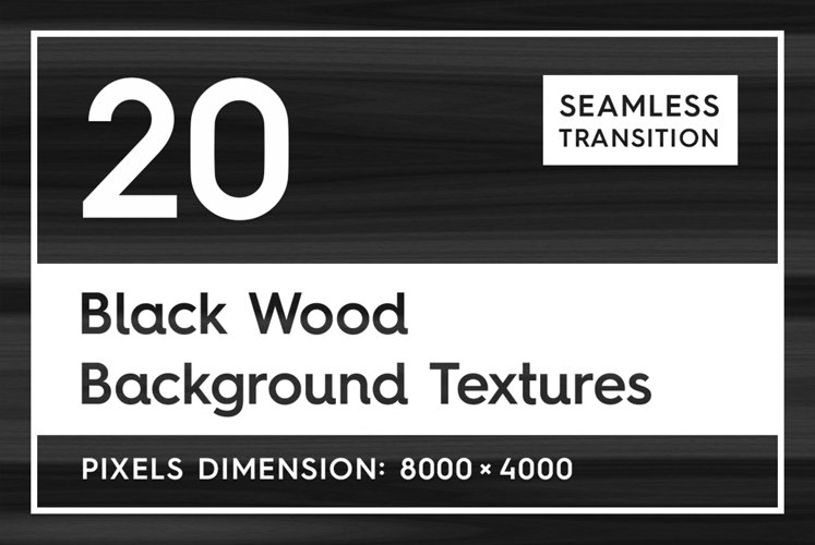 20 Black Wood Background Textures example image 1