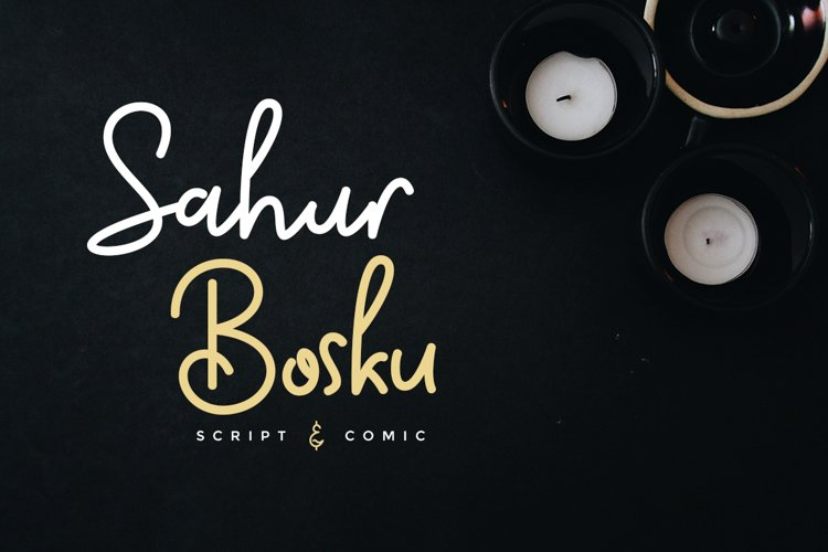 Sahur Bosku example image 1