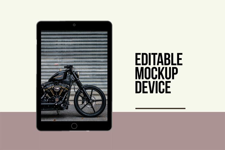 Editable TabletTemplate Vectors