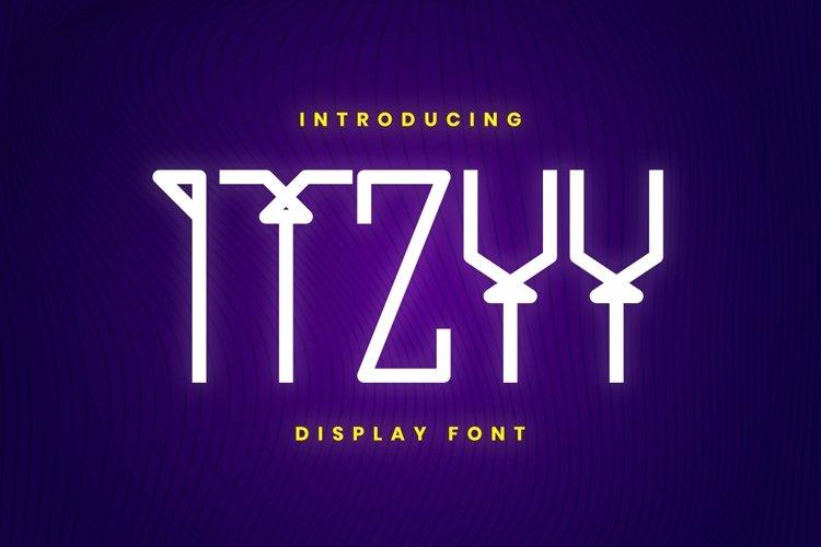 Web Font ITZYY Font example image 1