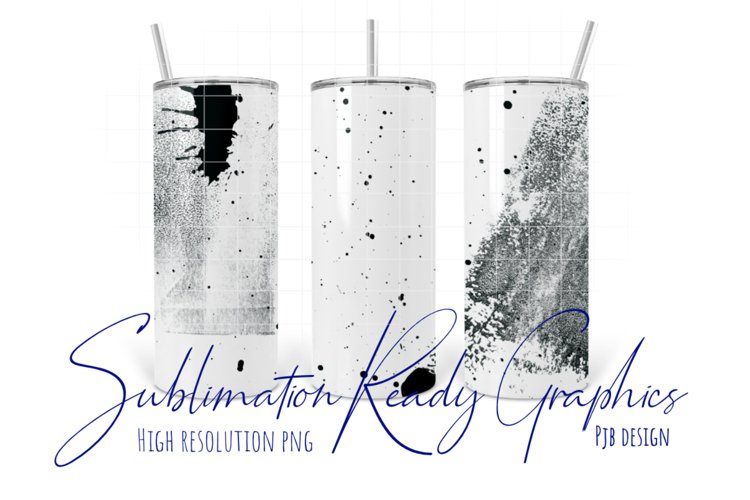 Dirty Oil Can Overlay for 20oz Skinny Tumbler Sublimation