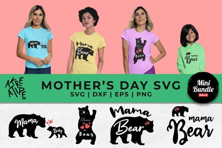 Mama Bear Sublimation Bundle SVG | Mom Bundle SVG
