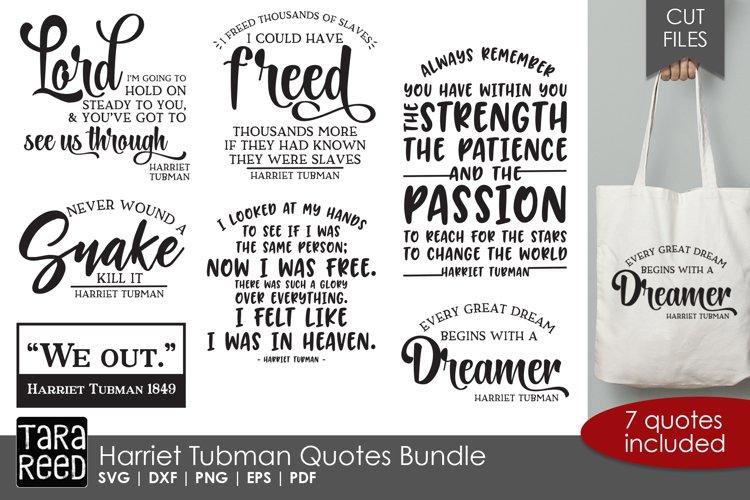 Harriet Tubman Quotes Bundle example image 1