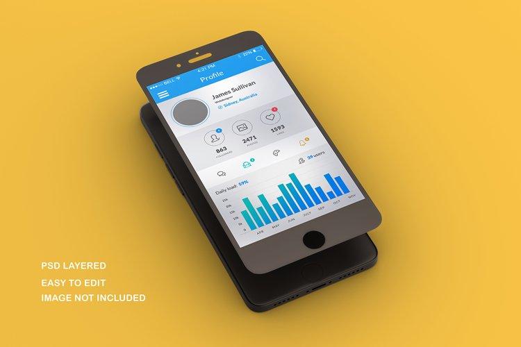 4 PSD Mobile Mock ups