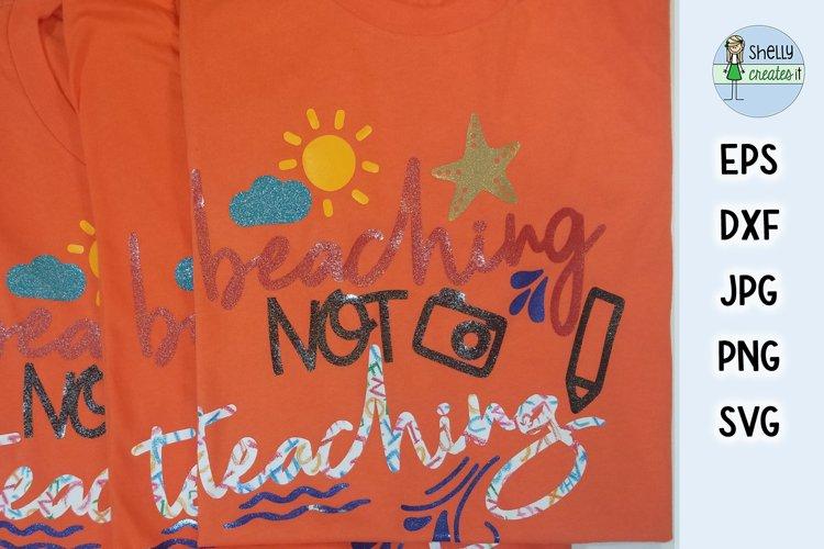 Beaching not Teaching