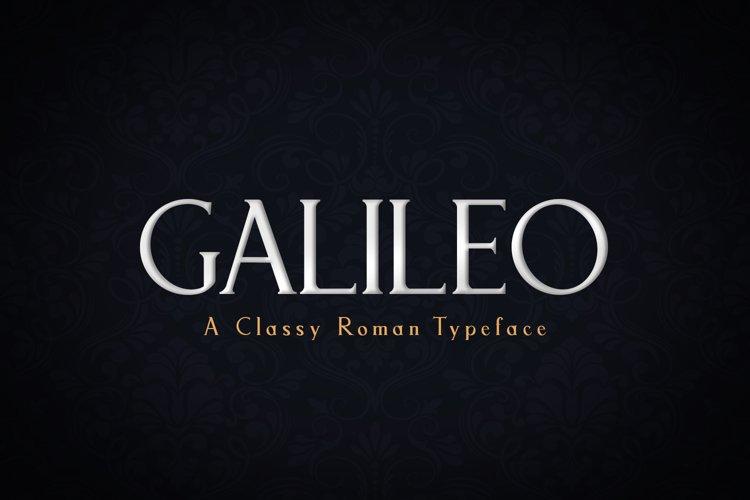 Galileo example image 1