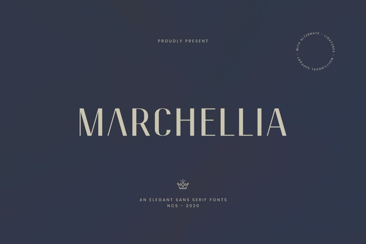 Marchellia Sans example image 1
