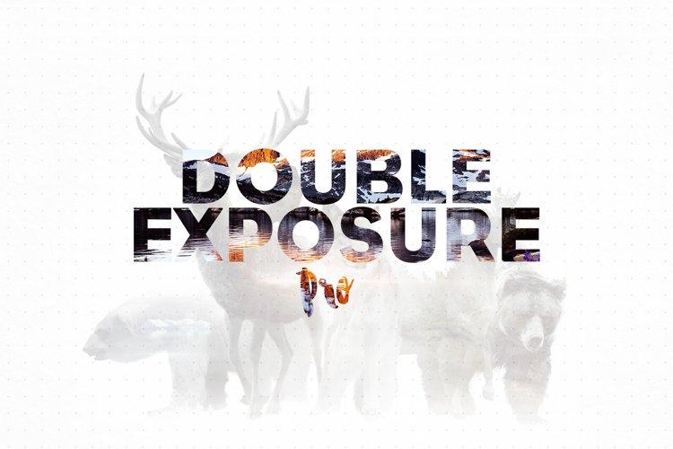 Double Exposure Photoshop Action Pro example image 1