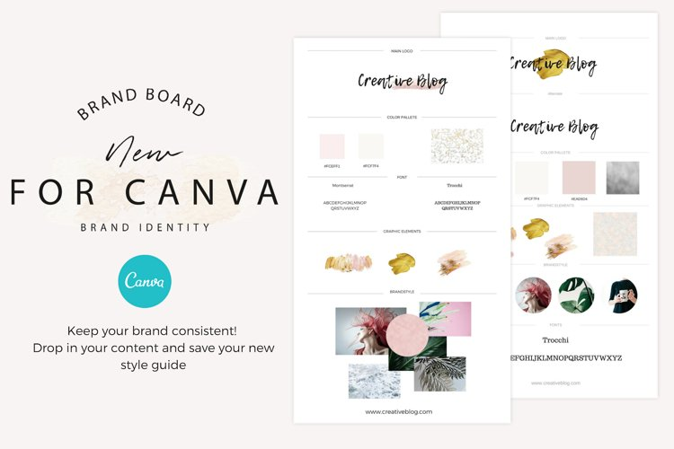 Brand boards Bold Elements