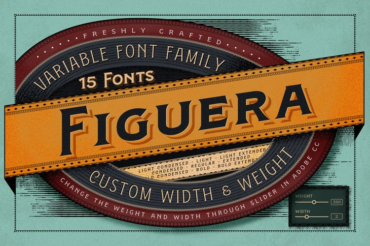 Figuera Variable Fonts example image 1