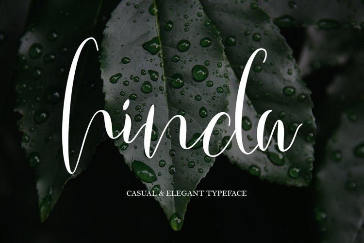 Hinda Script example image 1