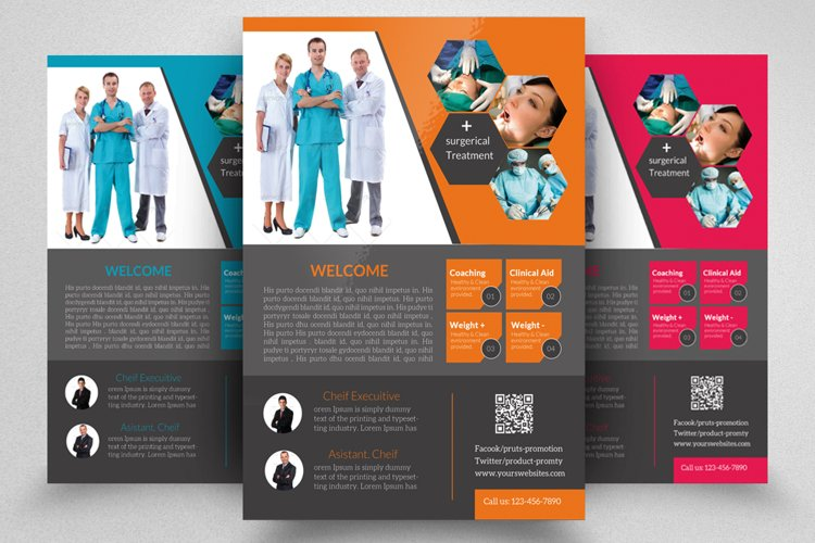 Dentist Flyer Template example image 1
