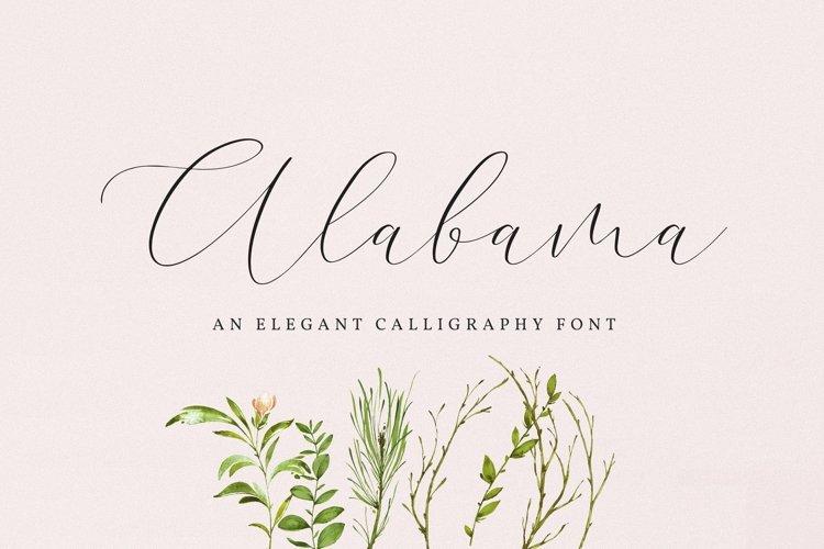 Web Font Alabama example image 1