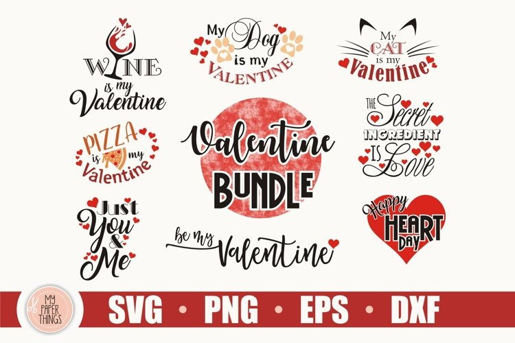 Download Valentine Svg Bundle Valentine Day Svg Cut File Love Svg 417941 Cut Files Design Bundles
