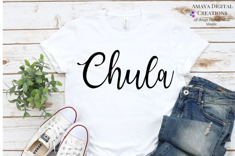 Chula SVG, Instant Download example image 1