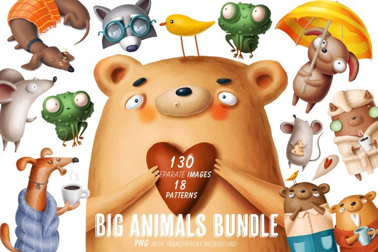 Big animals bundle
