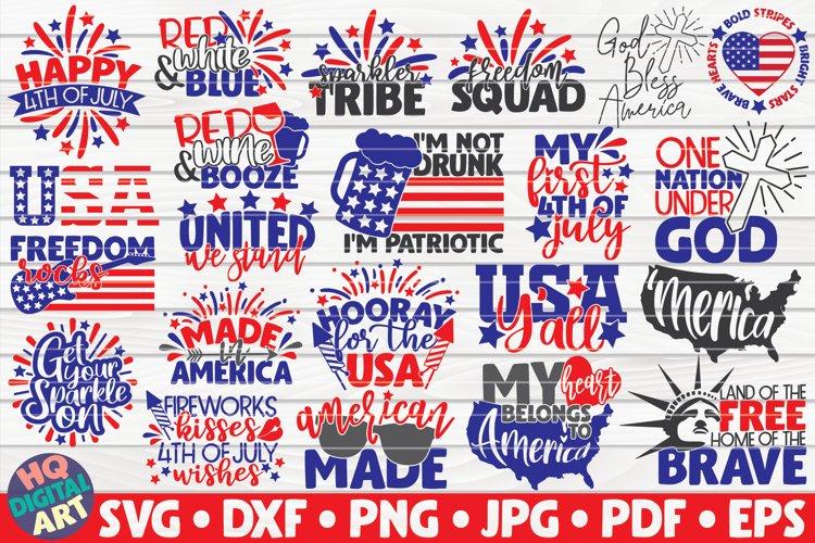 4th of July SVG Bundle | 22 designs