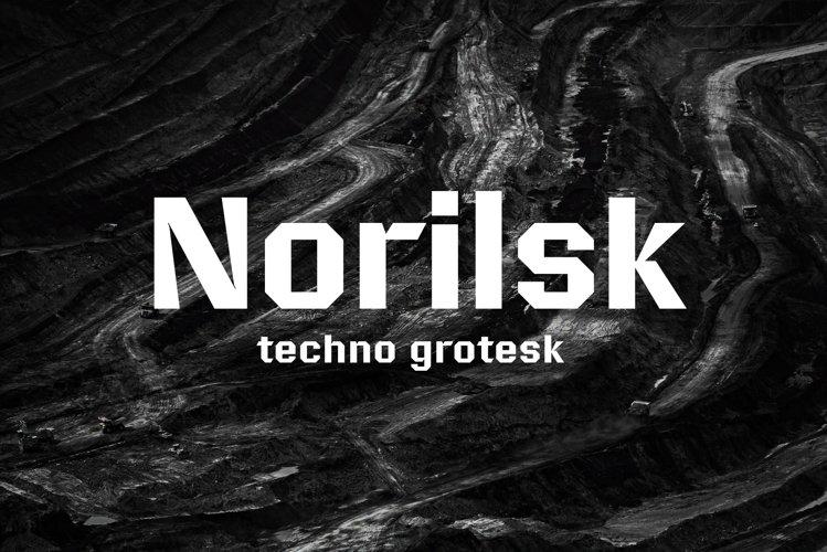 Norilsk font