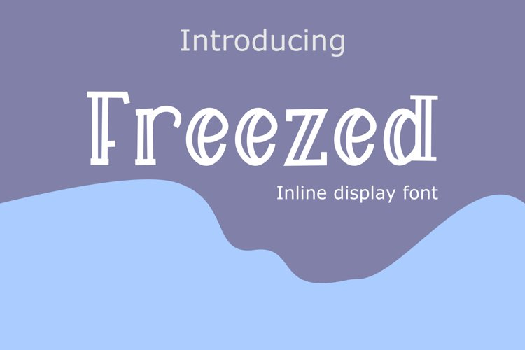 Freezed example image 1
