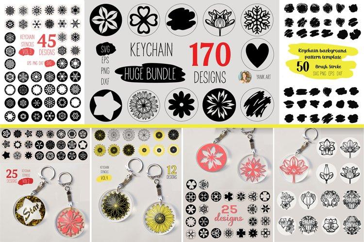 Keychain Svg, HUGE Bundle, Circle Patterns for Acrylic Keych