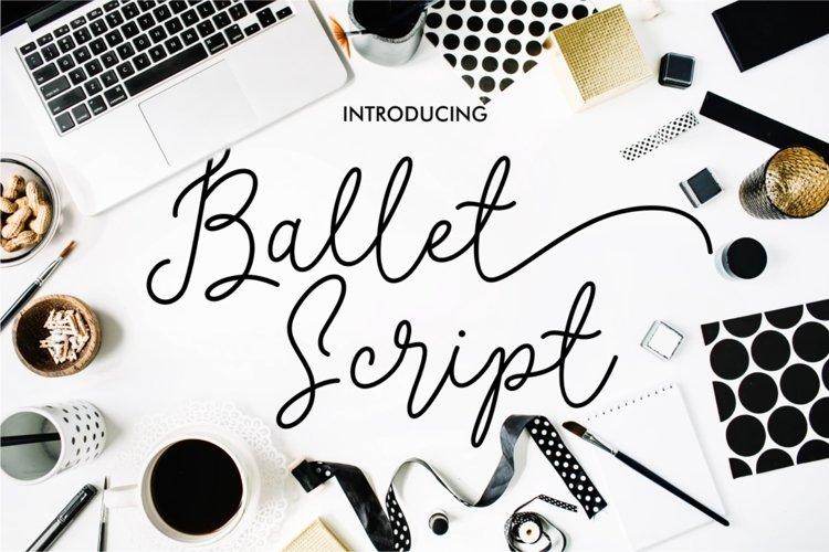 Ballet Script example image 1