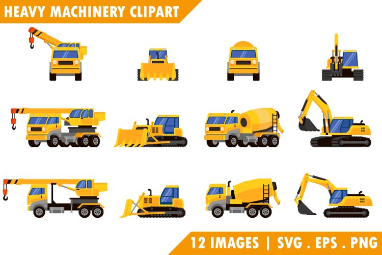 Special machinery from different angles.