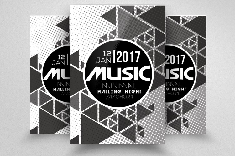 Music Concert Flyer Template example image 1