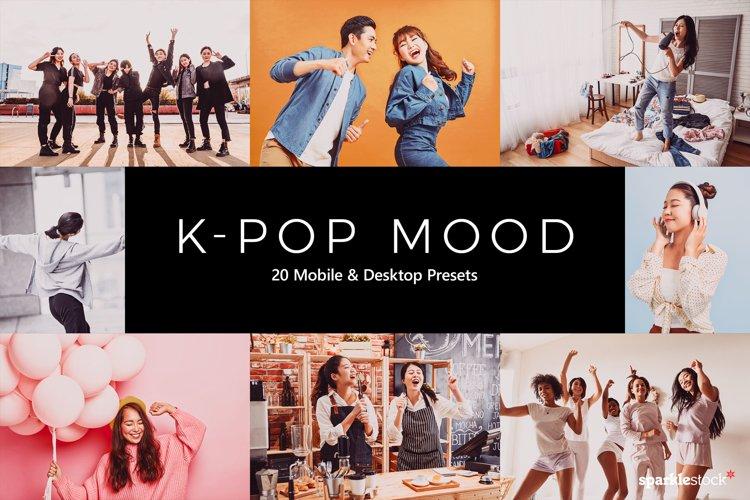 20 K-Pop Mood Lightroom Presets & LUTs example image 1