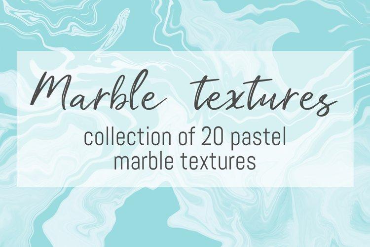 Pastel marble textures bundle example image 1