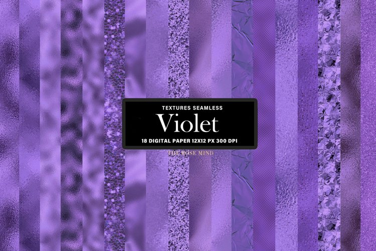 Violet Digital paper texture seamless example image 1