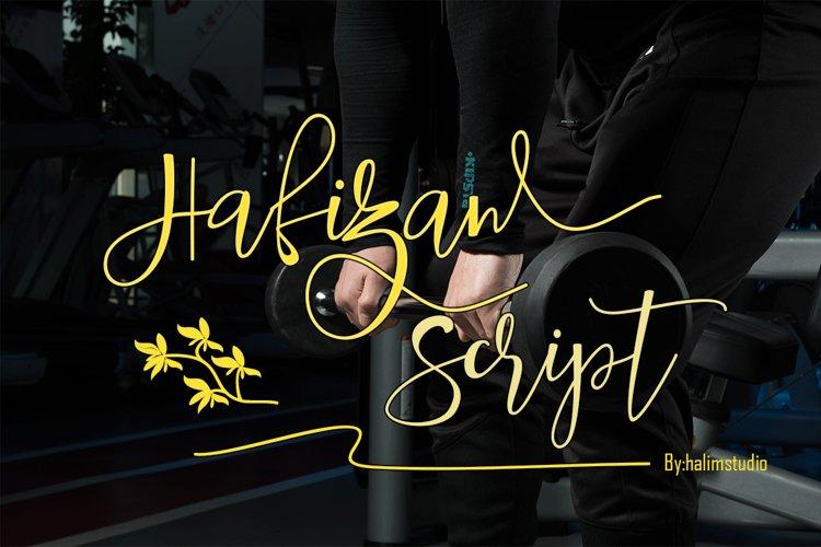 Hafizan script example image 1