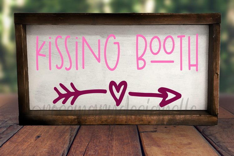 Kissing Booth - SVG