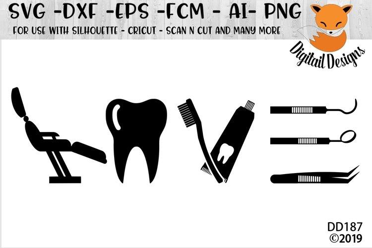 Dentist Love SVG example image 1