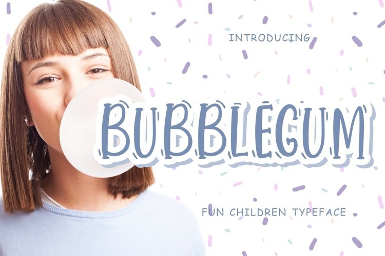 Bubblegum Fun Children example image 1