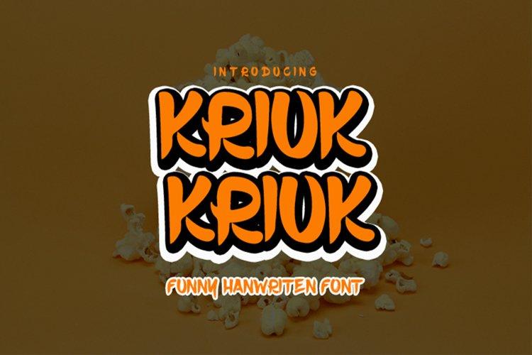 Kriuk Kriuk example image 1